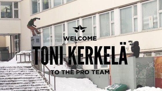 Rome Snowboards – Toni Kerkela