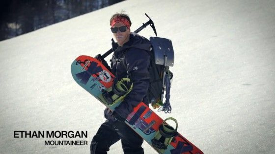 Splitboard Jibbing – Ethan Morgan