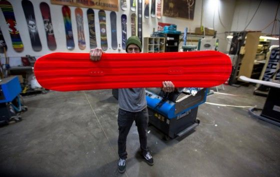 Every Third Thursday – Urethane Snowboard