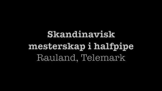 Mistrzostwa Skandynawii w Halfpipe 1988 rok