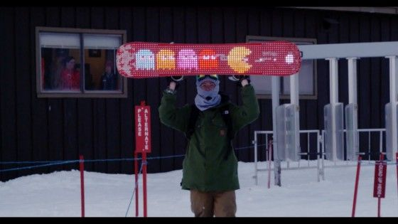 Every Third Thursday – Led Snowboard Base
