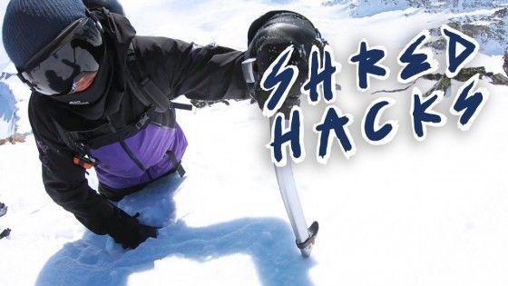 How to ride with Ice Axes -XAVIER DE LE RUE