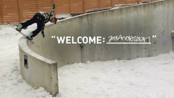 Adidas Snowboarding – Welcome: Jed Anderson